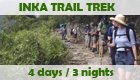Program: Inka Trail Trek - 4 days / 3 nights